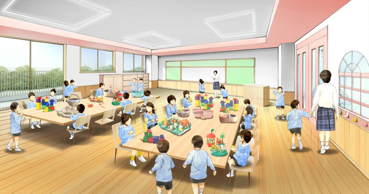 幼稚園イメージ写真